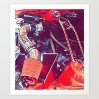 Rev the Engine Art Print