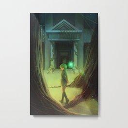 Zelda: Saria Metal Print