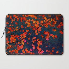furious red leaves Laptop Sleeve