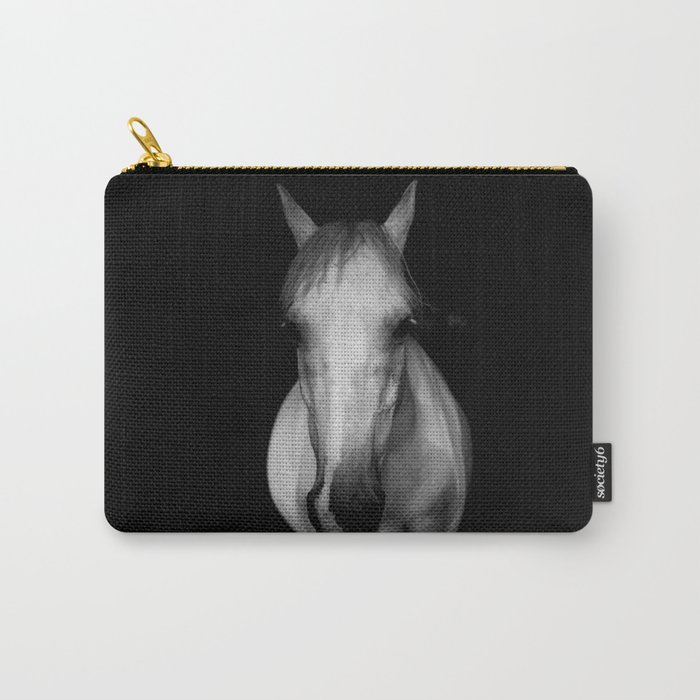 Horse in the Dark Carry-All Pouch