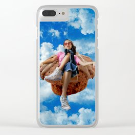 LXP - Up in the Sky Clear iPhone Case