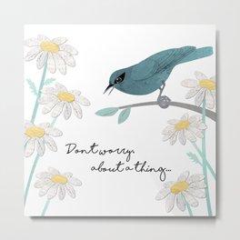 Three Little Birds, Part 1 Metal Print