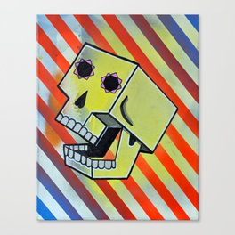 Box Skull Canvas Print
