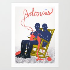 Adonais Art Print