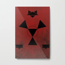 Guilmon Metal Print
