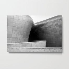 Dongdaemun Design Plaza by Zaha Hadid Architect | Seoul | II Metal Print