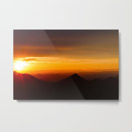Radiant Valleys  Metal Print