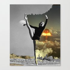 Danced out of existance Canvas Print