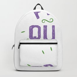 Gay proud to be saying Backpack