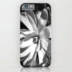 Monochrome Flower Study iPhone 6s Slim Case