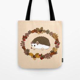 Kawaii hedgehog Tote Bag