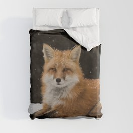 Artic Fox Duvet Cover