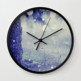 like distant dreams Wall Clock