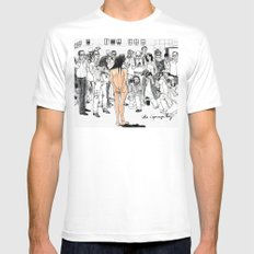 15 Minutes Mens Fitted Tee White MEDIUM
