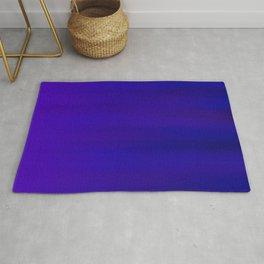 Ultra Violet to Indigo Blue Ombre Rug