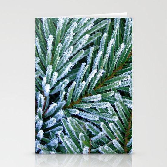 cold winter IV Stationery Cards