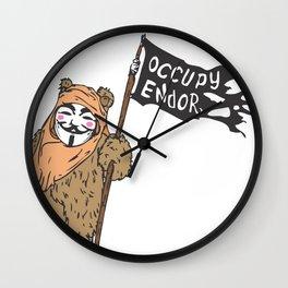 Occupy Endor Wall Clock