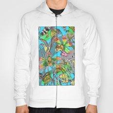 psychedelic garden Hoody