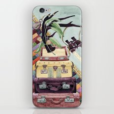 Suitcases Binoculars and Color iPhone & iPod Skin