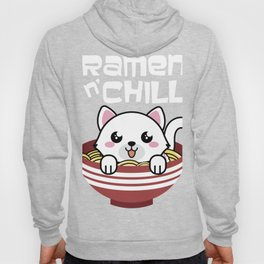 Japanese Cat Ramen graphic   Japan Anime Style Gift Tee Hoody
