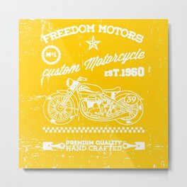 MotoBiKe RiDe 9 Metal Print