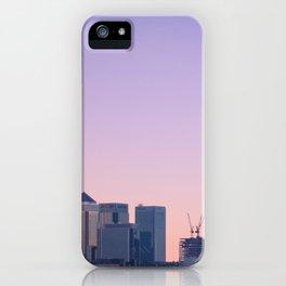 Summer Skyline iPhone Case