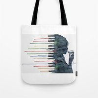 piano Tote Bags featuring Piano by Veronika Neto