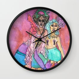 Power Puff Girls Wall Clock