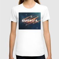 america T-shirts featuring America  by politics