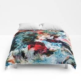 Rock Star Abstract Comforters