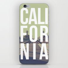 California on the Tracks Again iPhone & iPod Skin