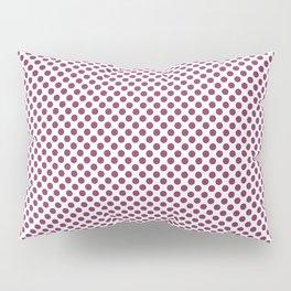 Boysenberry Polka Dots Pillow Sham