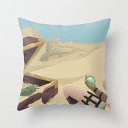 Rikku .  Final Fantasy X Throw Pillow