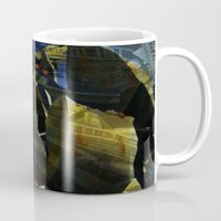 titan Mugs featuring titan by Bamboo blue