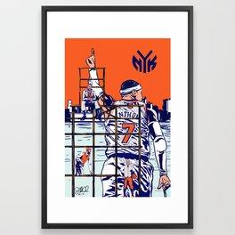New York Knicks Framed Art Print