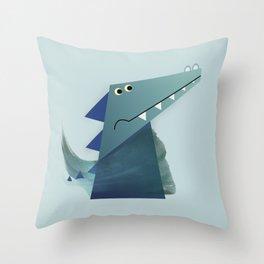 Anmaligon - Crocodile Throw Pillow