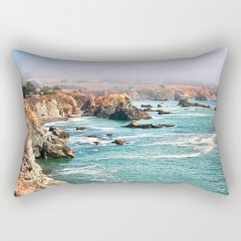 California coastline Rectangular Pillow