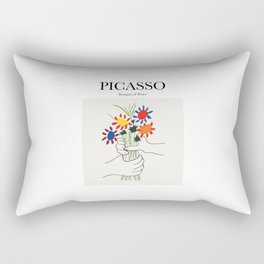 Picasso - Bouquet of Peace Rectangular Pillow