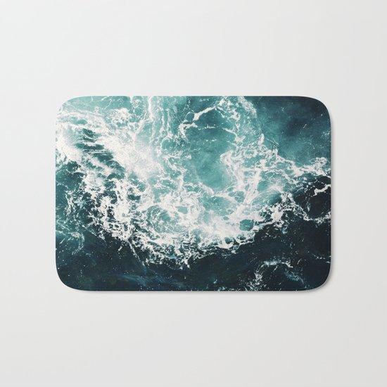 Sea waves II Bath Mat
