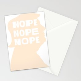"""Nope"" Trump - Anti Trump 2020 Never Trump Negative Trump Stationery Cards"
