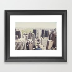 the view::nyc Framed Art Print