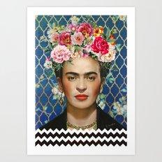 Forever Frida Art Print