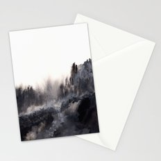 Watercolor abstract landscape 17 Stationery Cards