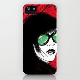 Distorted Vision iPhone Case