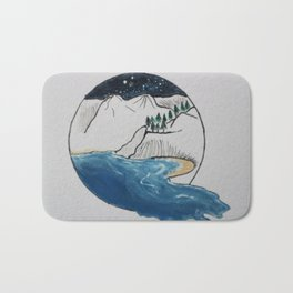 Sea Loch Bath Mat