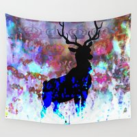 royal Wall Tapestries featuring Royal by SuzanneCarter