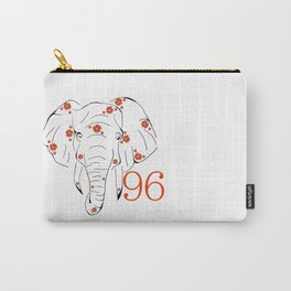 96 Elephants Carry-All Pouch
