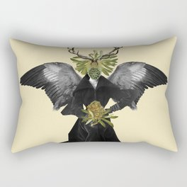 complicated creature - stillness Rectangular Pillow