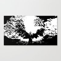 dracula Canvas Prints featuring Dracula by Panda Cool