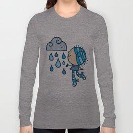 Rain Cloud Girl Long Sleeve T-shirt